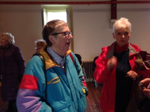 Irene MacWilliam with Margaret McCrory