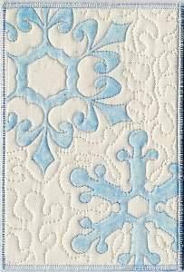 Fabric Postcard from Carol Logan Newbill