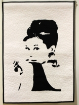 "Sharon Mount ""Iconic Series. Audrey Hepburn"""