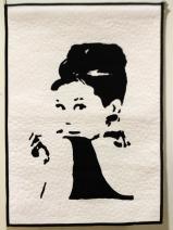 "Sharon Mount ""Iconic Series. Audrey Hepburn"""