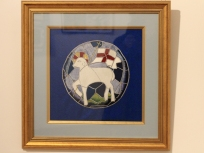 """Martha Cromie """"The Lamb and Banner of the Moravian Church"""""""