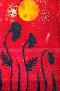 Fabric Postcard 10