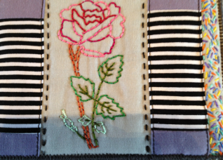 Fabric Postcard 12