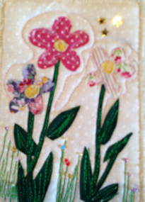 Fabric Postcard 16