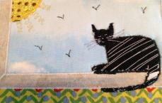 Fabric Postcard 20