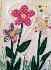Fabric Postcard 23