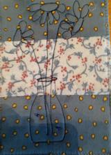 Fabric Postcard 25