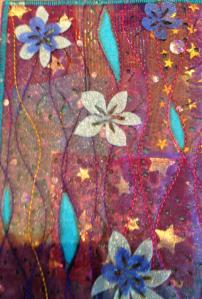 Fabric Postcard 26