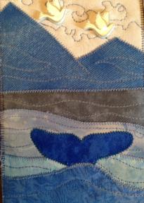 Fabric Postcard 28