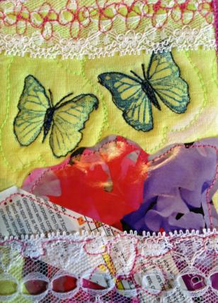 Fabric Postcard 30