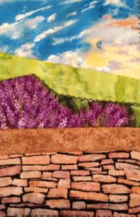 Fabric Postcard 9