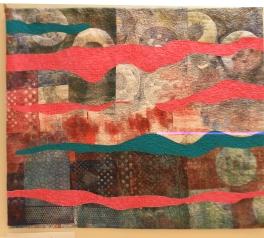 Claire Lynch 'Aurora-Alien Landscape'