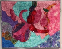 Patricia Pauley Abstract Fuchsia