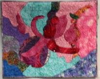 Patricia Pauley Abstract Fuchsia