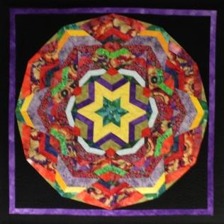 Paula Ellis My Garden Kaleidoscope